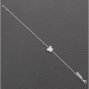 Bracelet Papillon or blanc et diamants