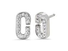 """Boucles d'oreilles """"Attachement"""" en or blanc et Diamants"""