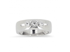Bague Trilogy Diamants en or blanc
