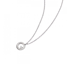 Collier - Diamants, or blanc