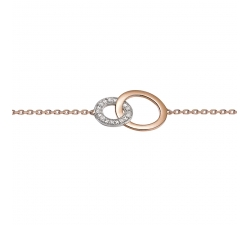 Bracelet - Diamants, or blanc, or rose