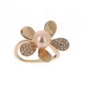 Bracelet - Perle d'eau douce, or rose