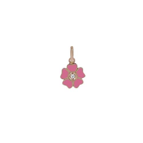 Pendentif Fleur Gigi Clozeau Or Rose