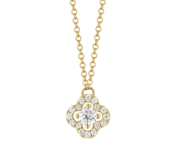 Collier - Diamants, or jaune