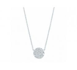 Collier en or blanc et diamants